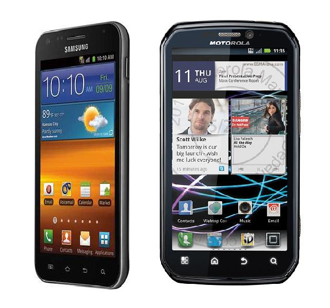 Samsung Epic Touch 4G vs Motorola Photon 4G