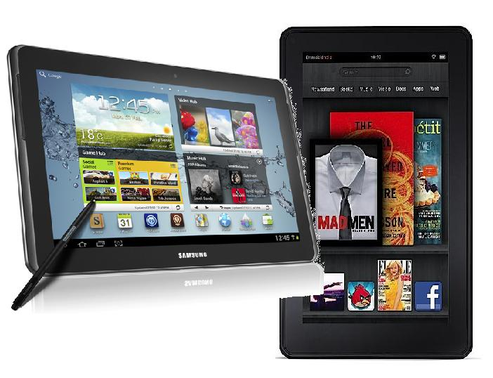 Galaxy note 10.1 Vs Kindle Fire