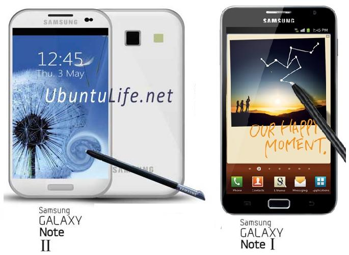 Galaxy Note 2 Vs Note 1