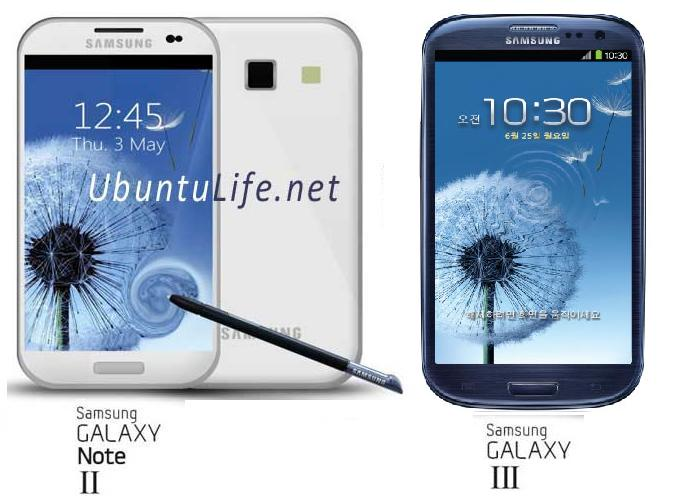 Galaxy S3 vs Galaxy Note 2