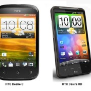 HTC Desire C vs Desire HD