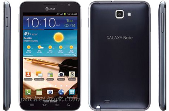 AT&T Galaxy Note