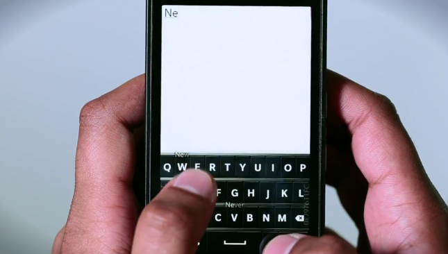 BB 10 Keyboard
