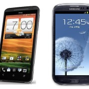 HTC EVO 4G LTE Vs GS3