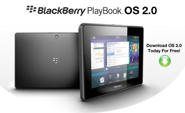 Blackberry PlayBook OS 2.0